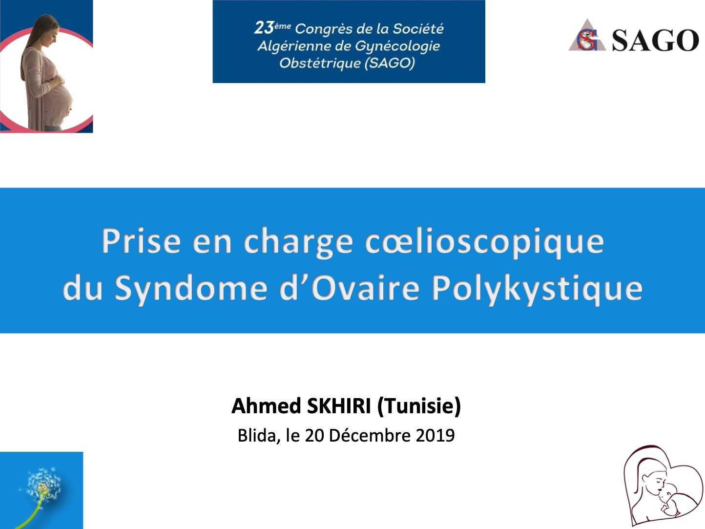 annonce Drilling Ovarien Dr Ahmed SKHIRI SAGO 2019