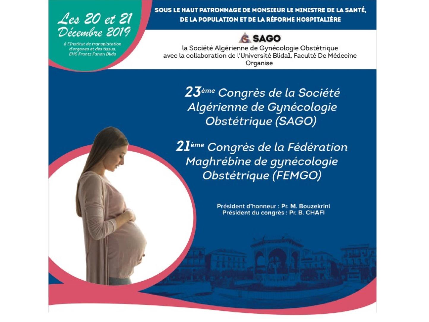 annonce SAGO 2019 Blida Algérie