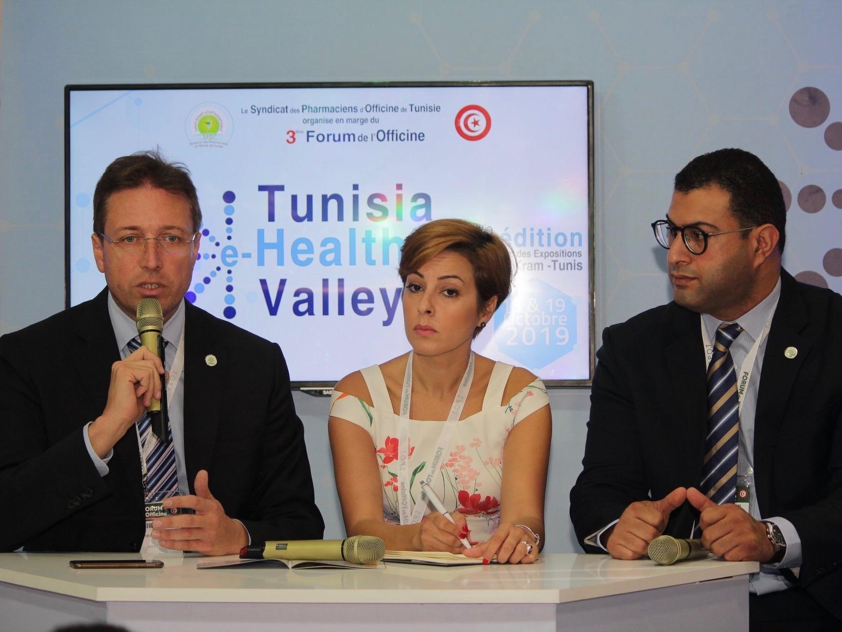 Tunisia e-Health Valley 2019 Dr Ahmed SKHIRI - 1
