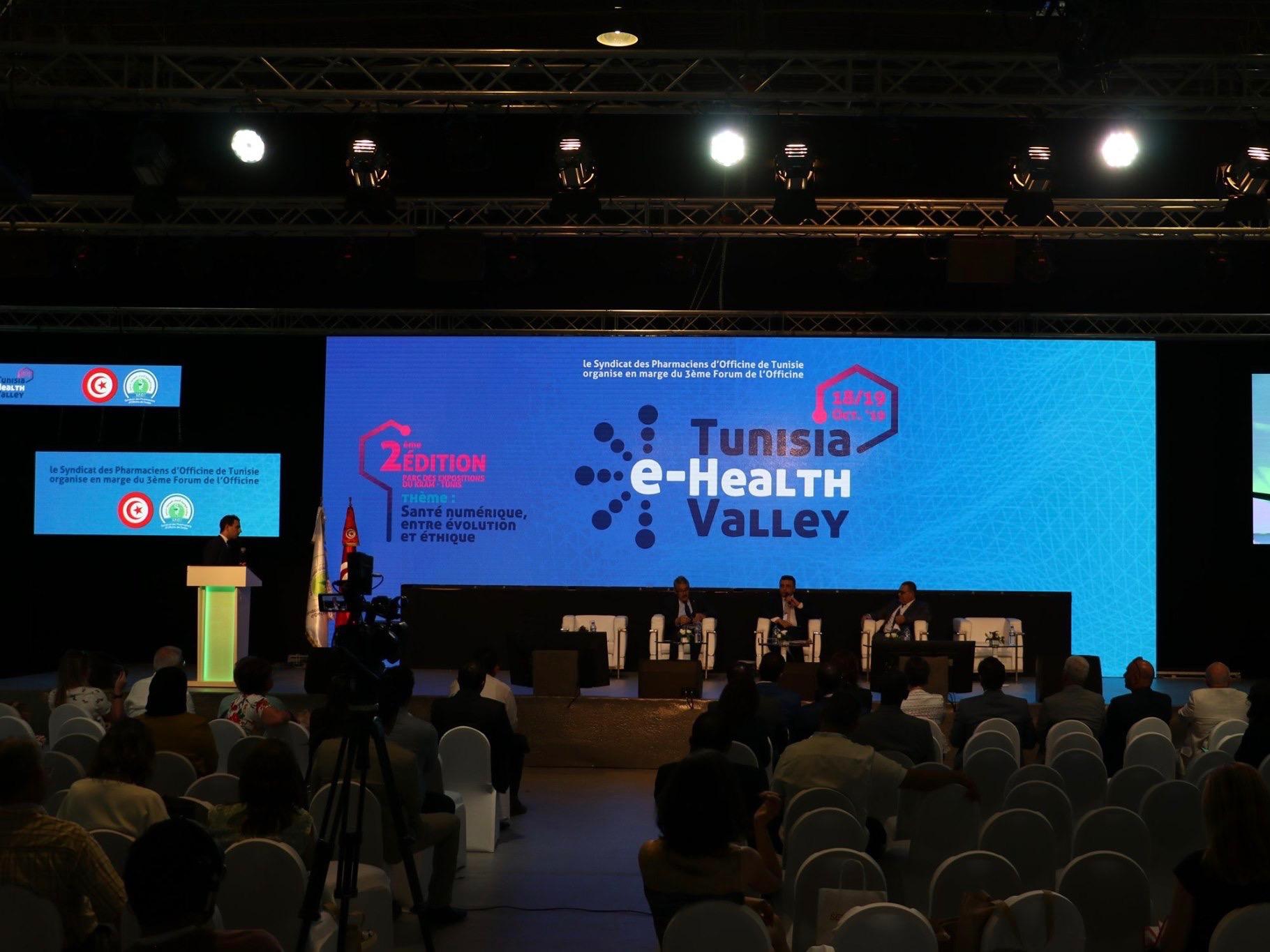 Tunisia e-Health Valley 2019 Dr Ahmed SKHIRI - 2